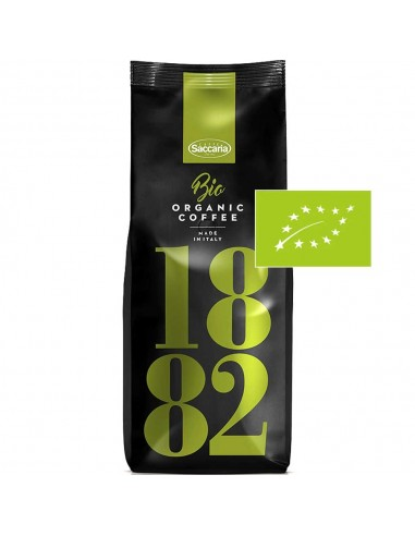 Saccaria 1882 Organic Coffee BIO, Coffee Beans 1kg | The best coffee beans online shopping