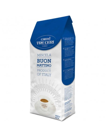 Tre Ceri Buon Mattino, Coffee Beans 1kg | The best coffee beans online shopping