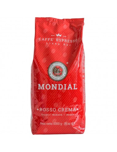 Mondial Rosso Crema, Coffee Beans 1kg | The best coffee beans online shopping
