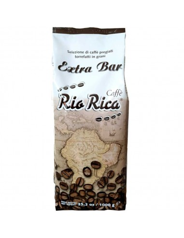 Rio Rica Extra Bar, Coffee Beans 1kg | The best coffee beans online shopping