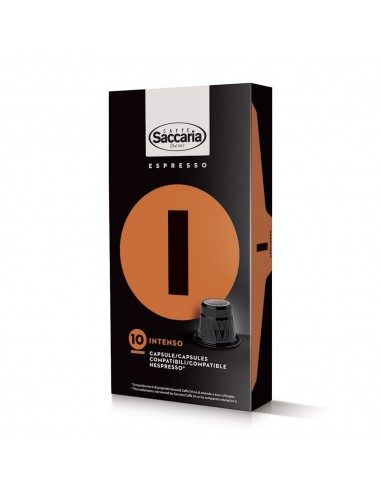 Saccaria Intenso, 100 Coffee Capsules    Shop Online the best coffee capsules